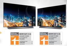 """LG: Stiftung Warentest """"Sehr Gut"""" für OLED C8"""