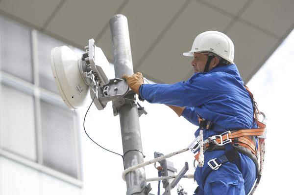 Telekom LTE-Techniker
