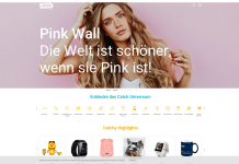 eBay Catch Pink Wall