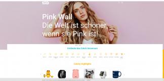 eBay Catch Pink Wall