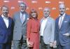 von links: Jens Heithecker, Dr. Reinhard Zinkann, Miss IFA, Hans-Joachim Kamp, Dr. Christian Göke