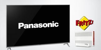 Panasonic FY2018 TV Kooperation AVM FritzBox