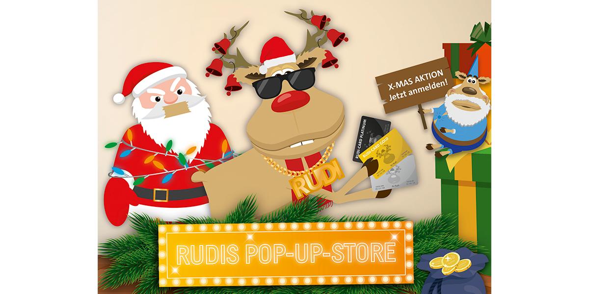 assona-Weihnachtsaktion: Rentier Rudi eröffnet Pop-up-Store | CE-Markt
