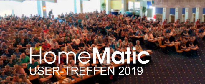 Homematic User-Treffen 2019. Foto: eQ-3