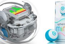 Roboterbälle Sphero Bolt und Mini zum selber Codieren