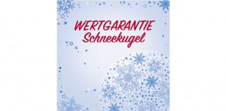 Wertgarantie-Schneekugel