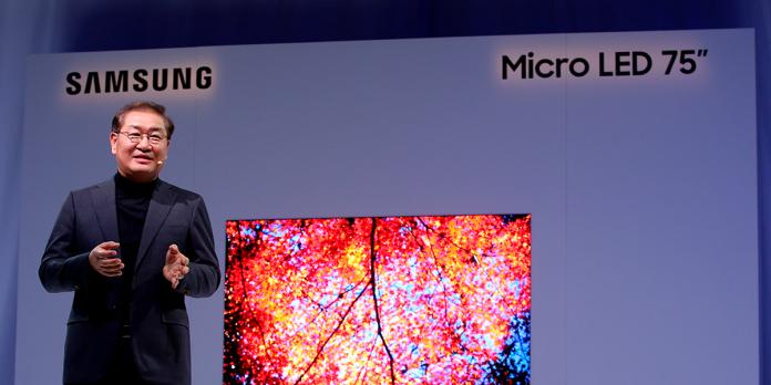 Samsung: Jonghee Han präsentiert modulare Micro-LED-Display