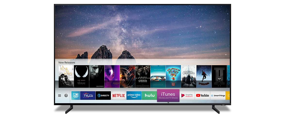 Samsung Smart TVs mit iTunes Movies und Apple AirPlay 2