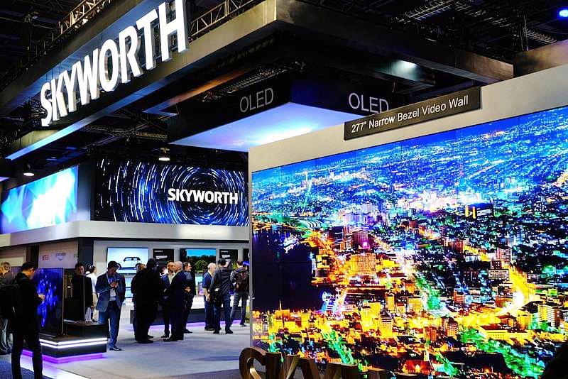 Skyworth auf der CES 2019