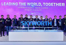 Skyworth Global Media Launch CES 2019