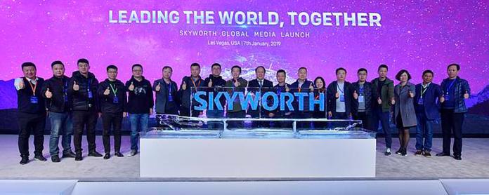 Skyworth Global Media Launch CES 2019