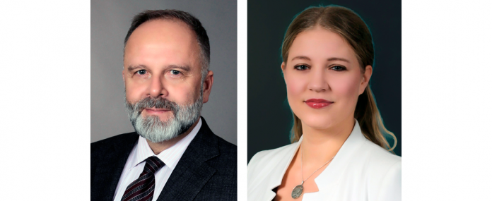 Michael Schidlack und Larissa Scheu