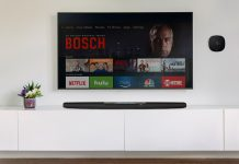 Polk Command Bar mit Fire Stick. Foto: Polk