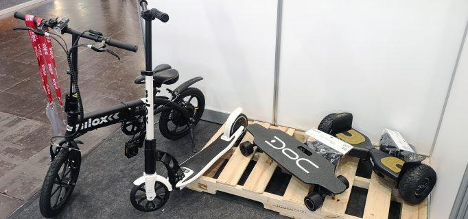 E-Scooter, Hoverboard und elektrisches Skateboard von Nilox
