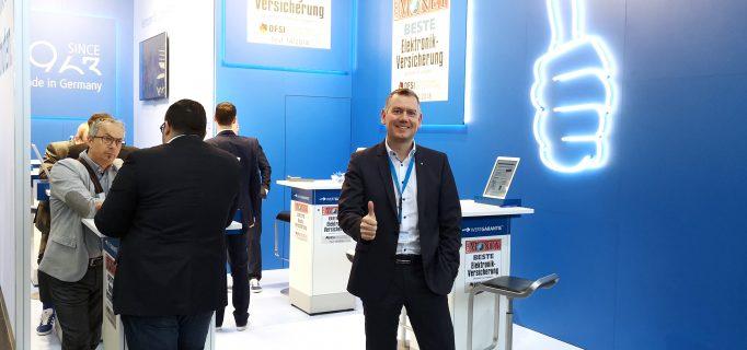Thumbs up! Wertgarantie-Vertriebsleiter Thilo Dröge