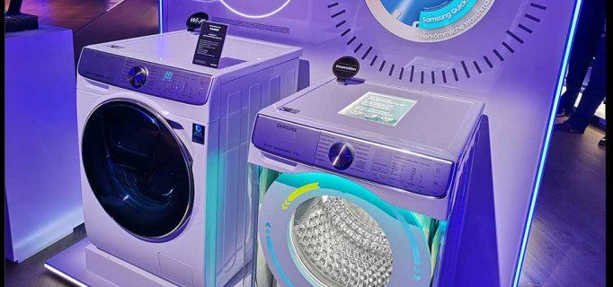 Neue Waschmaschine der Quick Drive-Serie mit WiFi-Funktion