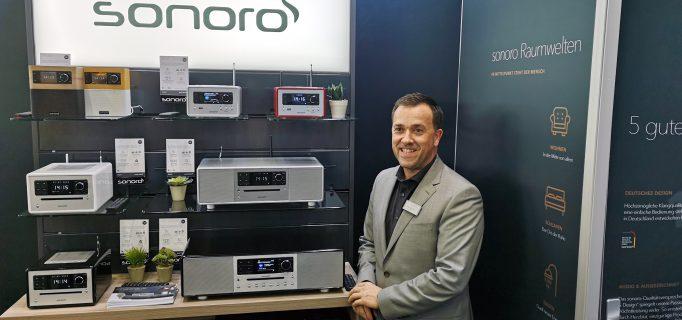 Sonoro-Vertriebsleiter Wolfgang Huber