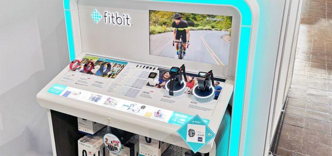Fitbit POS-Display für das Angebot an Wearables