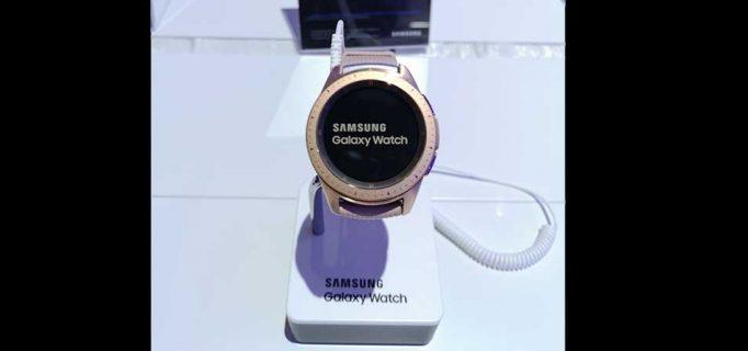 Galaxy Watch Active mit erweiterten Sport-Features