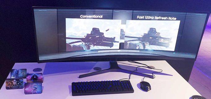 Samsung Curved-Monitor ist ideal für Gaming