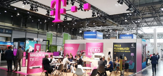 Telekom-Stand
