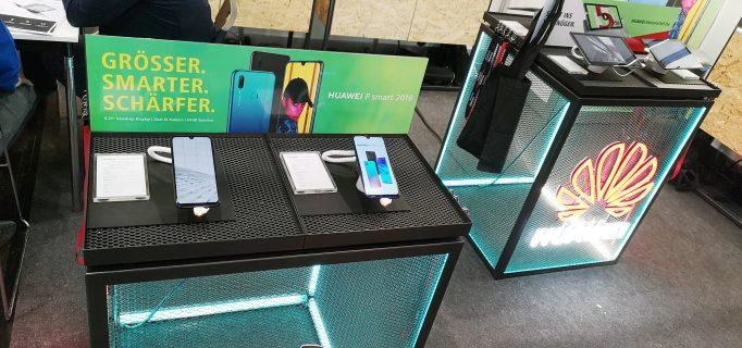 So werden Huawei-Smartphones präsentiert
