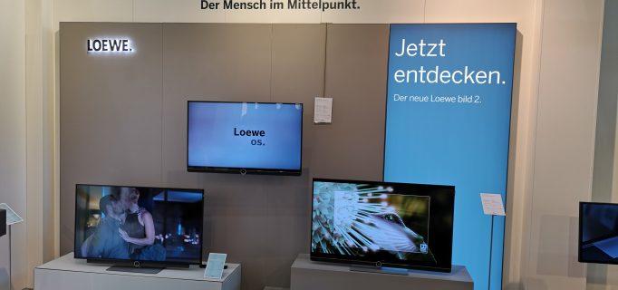 Präsentation des Kronacher Premium-TV-Herstellers Loewe