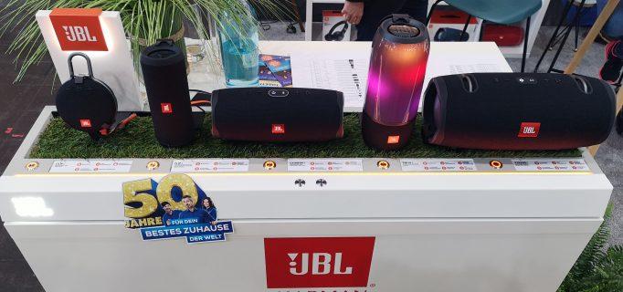 JBL: POS-Präsentation der Bluetooth-Speaker