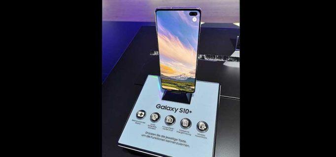 Galaxy S10+ mit leistungsstarker Kamera, die über gleich vier Objektive verfügt