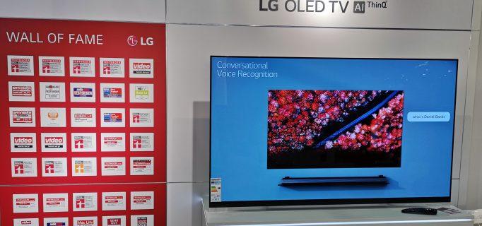 Vielfach ausgezeichnete LG-Fernseher