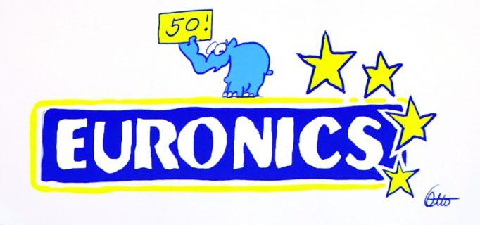 Neues Euronics-Logo, Geburtstagsgrüße von Otto