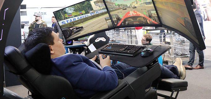 4D-Gaming: Bewegliche Kuppel mit Breitfront-Screen