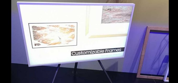 The Frame: Die Samsung LED-Lifestyle-TVs verschönern auch in diesem Jahr die Räumlichkeiten mit ausgesuchten Kunstwerken