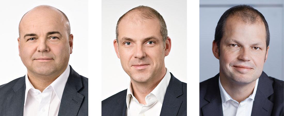 von links: Leif-Erik Lindner, Alexander Zeeh, Mario Winter