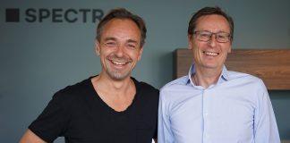 Wechsel in der Geschäftsführer. Markus Krämer (li.) übernimmt die Verantwortung von René Glasmacher. Foto: Spectral