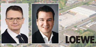 Loewe, Dr. Ralf Vogt und Peter Nortmann