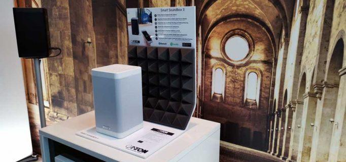 Vernetztes Audioerlebnis bietet die Smart Soundbox 3 von Canton