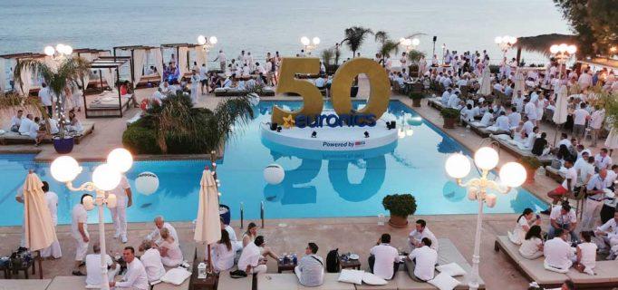 Der mondäne Club Mhares bildete erneut den krönenden Abschluss der Euronics Summer Convention