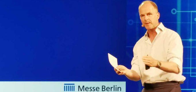Das Marktumfeld ist heute viel stärker kommunikationsgetrieben als faktenbasiert, so die These von Dr. Christian Göke, CEO der Messe Berlin