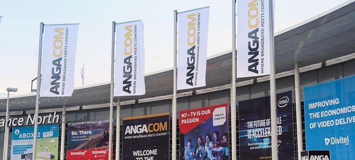 Eingang Anga Messe in Köln. Foto: KoelnMesse