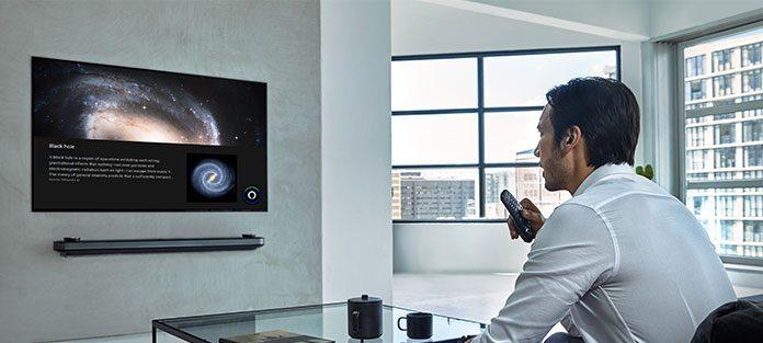 Alexa-Sprachsteuerung für LG TV-Geräte mit ThingQ