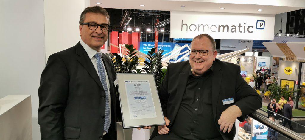 13 Homematic IP Wolfgang Niedziella Leider Digitale Sicherheit im VDE + Bernd Grohmann