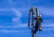 Aufbau einer 5G-Antenne