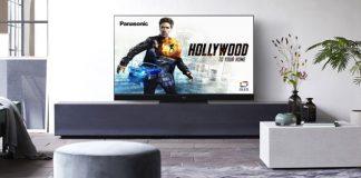 Panasonic OLED TV HZW2004 CES 2020 im modernen Wohnzimmer. Foto: Panasonic