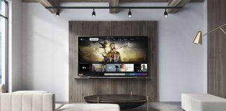 LG 2019er Modelle mit Apple-TV. Foto: LG
