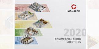 Commercial Audio Solutions Monacor Broschüre 2020