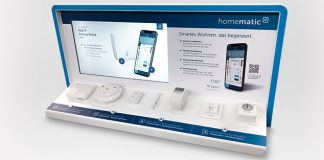 Homematic IP mit Premium POS Display