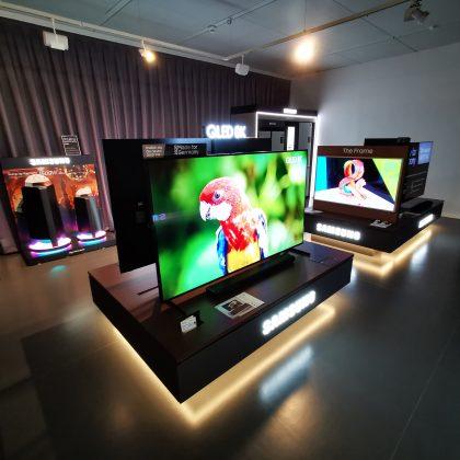 Samsung POS-Präsentation