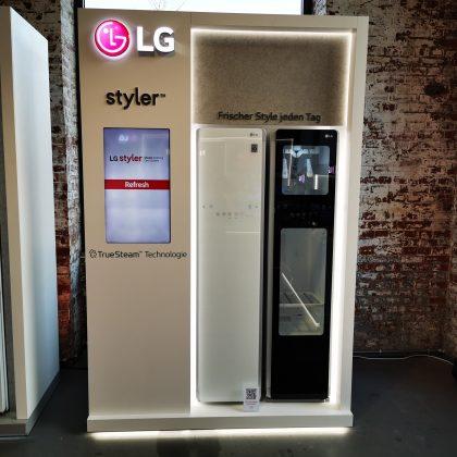 LG Styler Präsentation