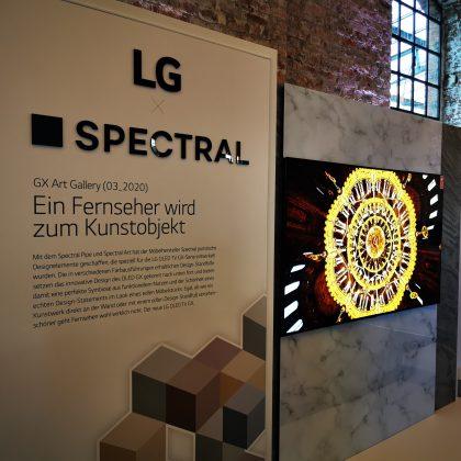 Design-Standfüße LG mit Spectral